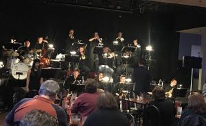 Jazz Band joins Gateway City Big Band at Brewskeez